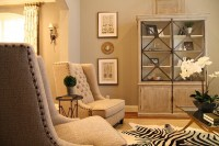 Gold Zebra Cowhide Rug Design Ideas