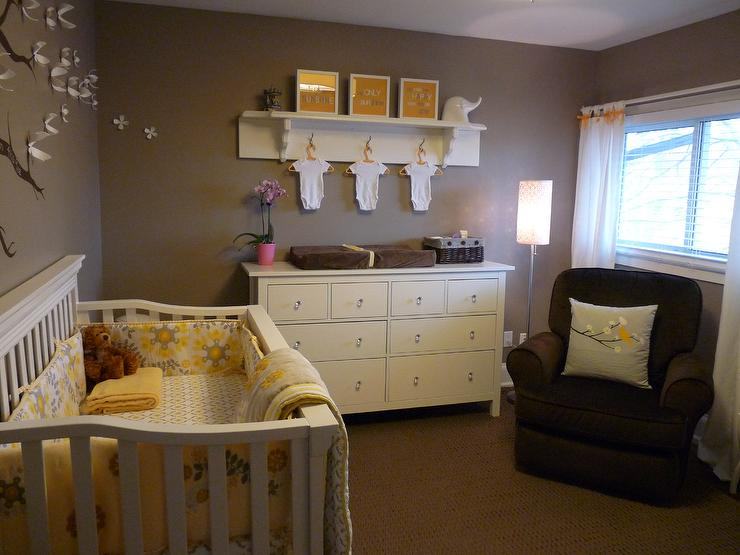 Ashley Gray  Contemporary  nursery  Benjamin Moore Ashley Gray HC87  Kimberly Murdoch