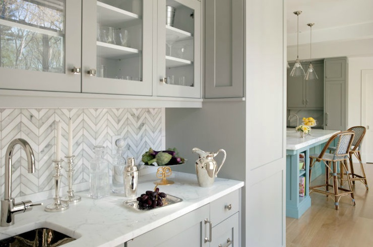 Butlers Pantry Sink  Transitional  kitchen