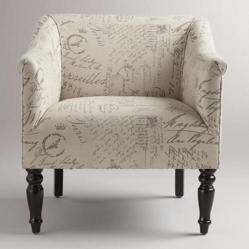 French Script Charlotte Chair  World Market