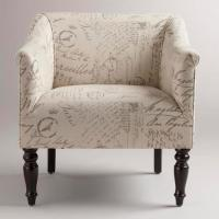 French Script Charlotte Chair - World Market