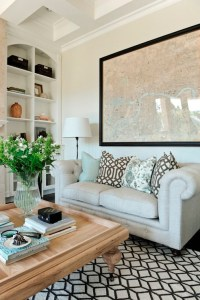 Gray Chesterfield Sofa - Transitional - living room ...