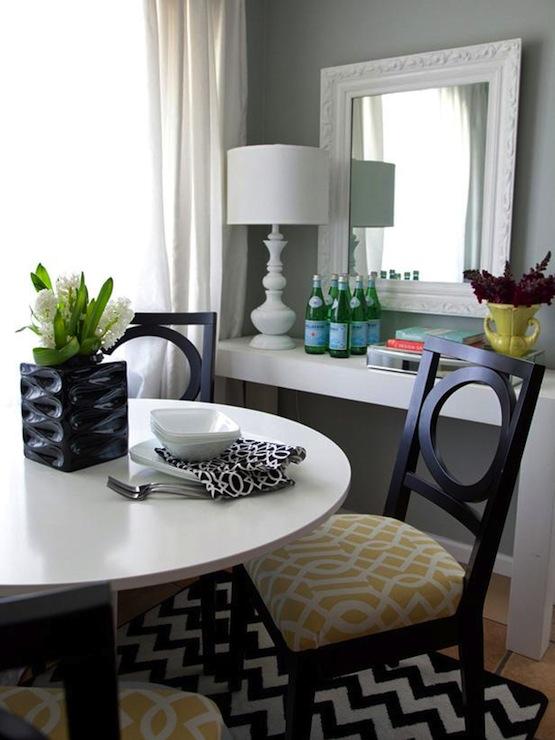 Trellis Chairs  Contemporary  dining room  HGTV