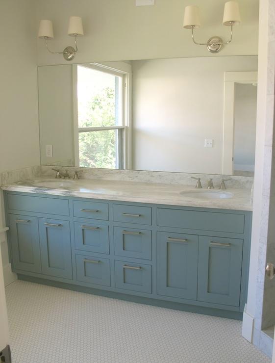 Blue Bathroom Vanity  Contemporary  bathroom  Benjamin