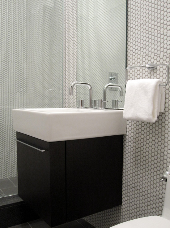 Floating Washstand  Contemporary  bathroom  Carlyle Designs