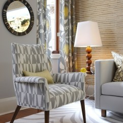 Gray And Yellow Curtains For Living Room Ideas A Small Space Contemporary Para Paints