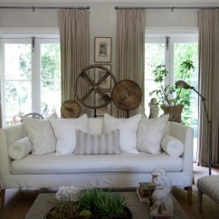 White Slipcovered Sofa Living Room Neutral Paint Colors For Rooms French John Jacob Interiors