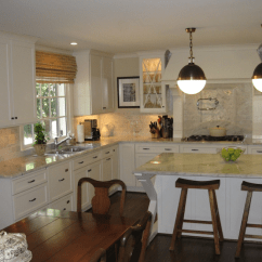 Bamboo Dining Chairs Purple Parsons Chair Kitchen Island Hicks Pendants - Traditional West End Cabinet Company