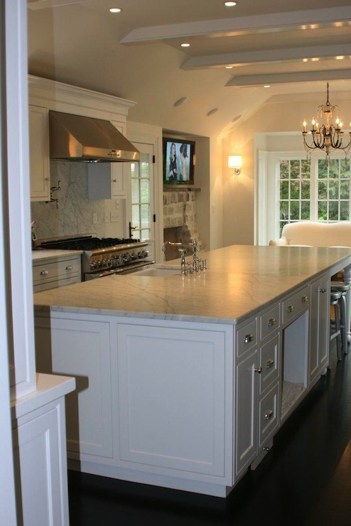 espresso shaker kitchen cabinets sizes white dark wood floors - transitional ...