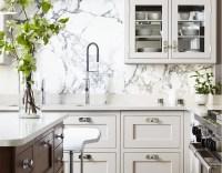 Marble Slab Backsplash Design Ideas