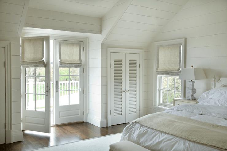 Bedroom French Doors  Cottage  bedroom  Barbara Waltman