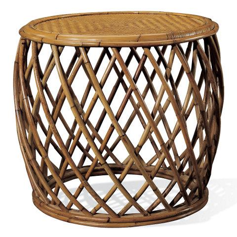 rattan or wicker chairs chair cane supplies cape lodge side table - ralph lauren home