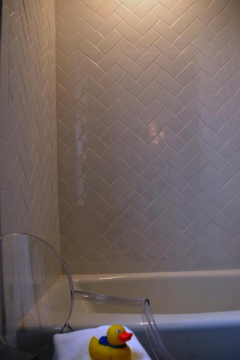 Subway Tile Patterns  Transitional  bathroom  Teresa