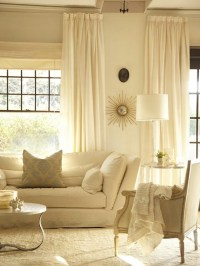 Monochromatic Living Room - Transitional - living room ...