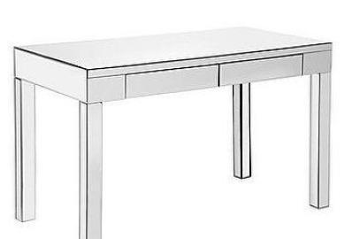 Canopy Anywhere Console Table Mahogany Finish Walmart Com
