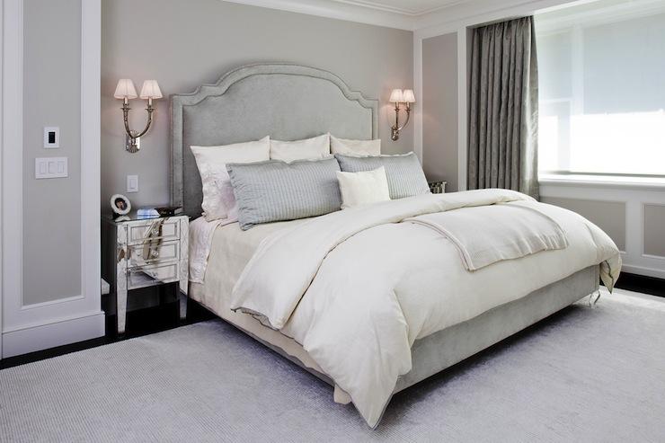 Elegant Gray Bedroom Design Ideas