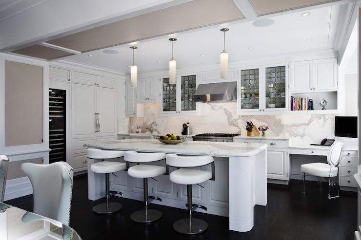 Modern White Kitchen Modern Kitchen GRADE Architecture