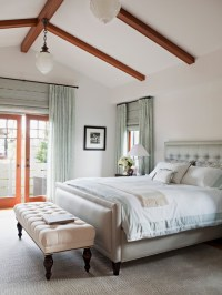 Vaulted Ceiling Bedroom - Transitional - bedroom - Annette ...