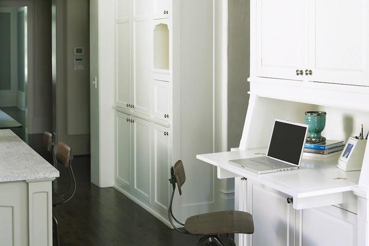 Built In Desk  Transitional  kitchen  Brian Watford
