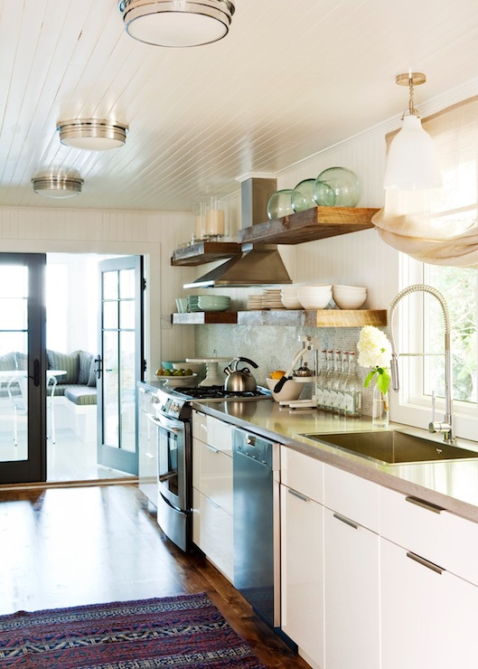 Beadboard Ceiling  Contemporary  kitchen  Jennifer