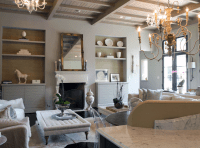 Modern French Living Room - French - living room - Lucy ...