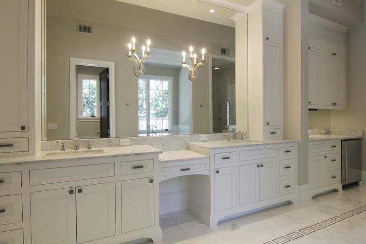 Mirrored Bathroom Vanity  Contemporary  bathroom  Caden