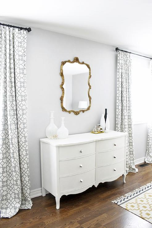 Silver Gray Paint Color  Contemporary  bedroom  ICI