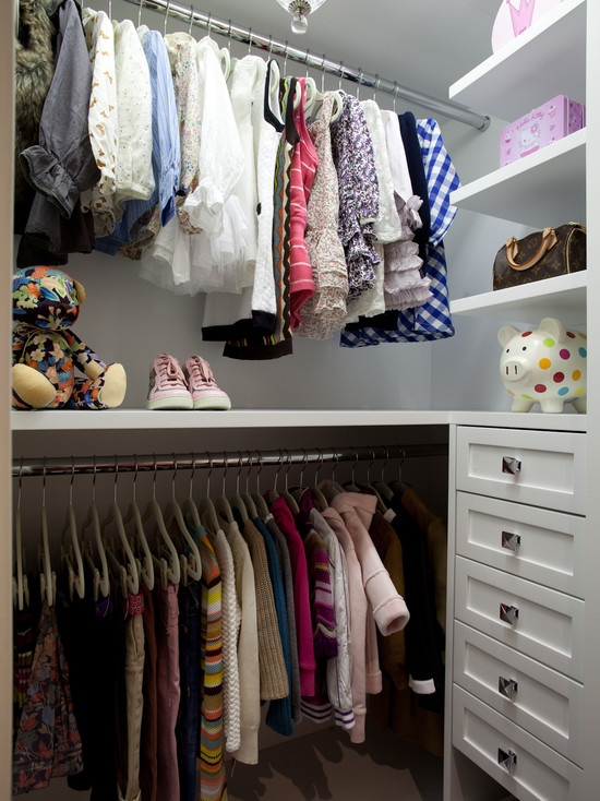 Little Girls Closet  Traditional  closet  LA Closet Design