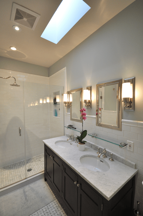 Double Bathroom Vanity  Traditional  bathroom  Benjamin