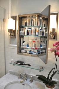 Inset Medicine Cabinet - Traditional - bathroom - Benjamin ...