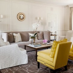 Yellow Gray And White Living Room Area Rugs In Rooms Photos Transitional Courtney
