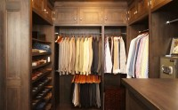 Mens Walk In Closet Design - Traditional - closet - Bakes ...