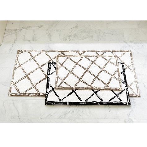 trellis bath mat - ballard designs