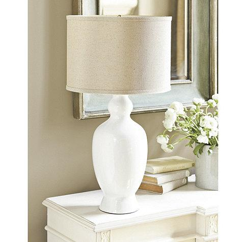 Black Silver Wallpaper Designs Ellen Ceramic Table Lamp Ballard Designs