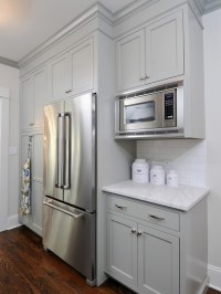 Gray Green Kitchen Cabinets - Contemporary - kitchen ...