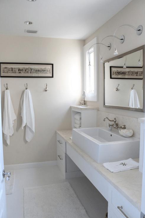 Beachy Bathroom  Cottage  bathroom  Molly Frey Design