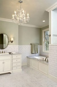 Subway Tile Backsplash - Traditional - bathroom - Hendel Homes