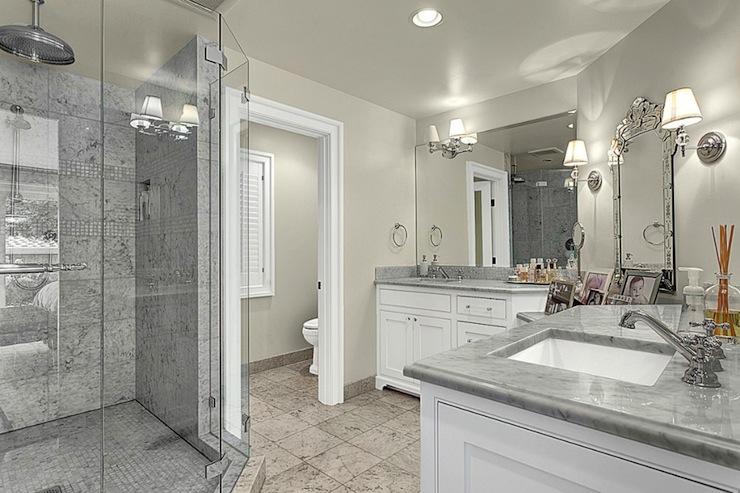 Small Bathroom Ideas: Bathroom Carrara Marble Paint Color