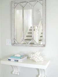 Wall Mount Console Table - Cottage - entrance/foyer ...