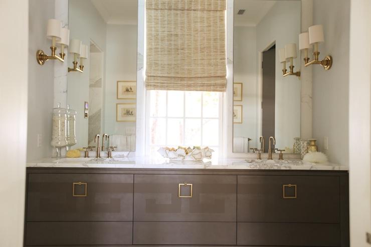 Gray Bathroom Vanity  Contemporary  bathroom  Urban