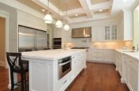 Coffered Ceiling Kitchen - Traditional - kitchen - Jillian ...