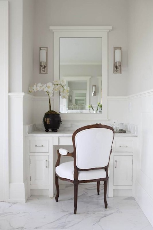 Marble Top Vanity  Traditional  bathroom  Milton