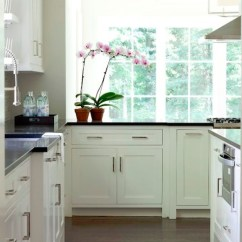 Rugs For Hardwood Floors In Kitchen Moen Faucet Reviews White Inset Cabinets - Contemporary Milton ...