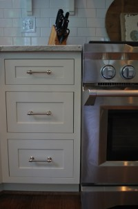 Restoration Hardware Lugarno Pulls - Cottage - kitchen ...