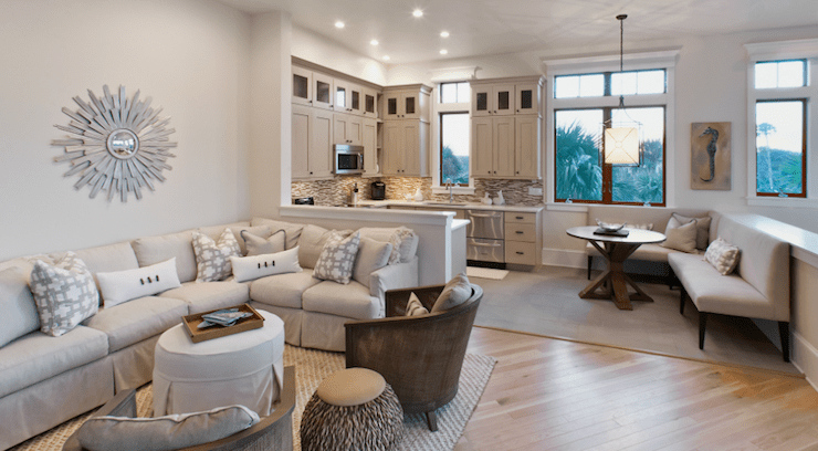 coastal living sectional sofa lifestyle furniture genoa left hand facing white slipcovered - contemporary bathroom ...