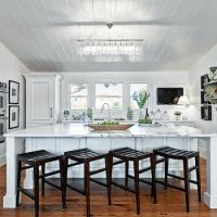 White Beachy Kitchens - Cottage - kitchen - Tamara Mack Design