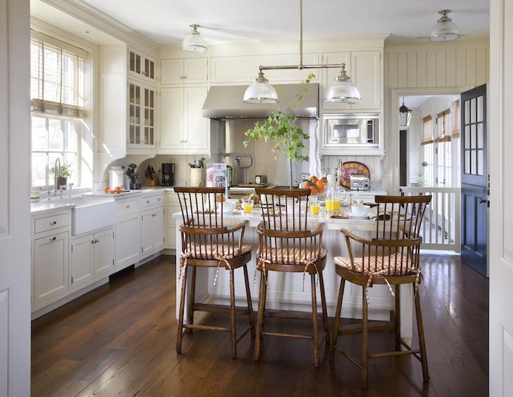 Modern Windsor Counter Stools Design Ideas