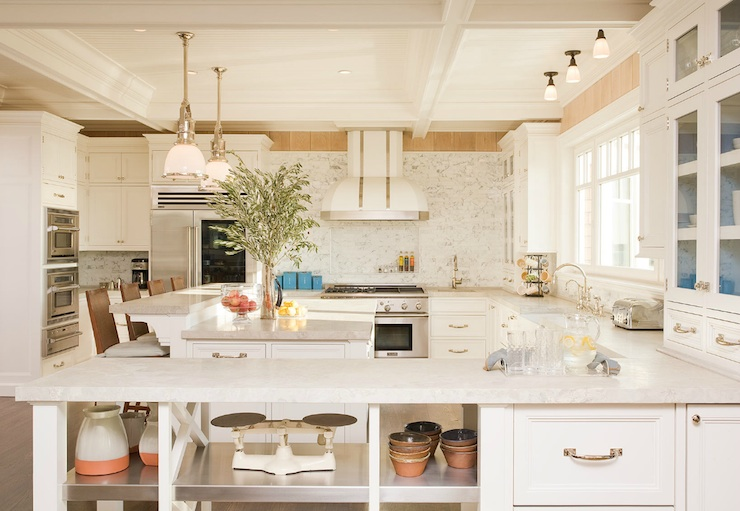 Kitchen Peninsula Shelving Contemporary Kitchen Ali Schwarz