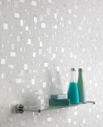 Graham and Brown Contour Spa Tile Wallpaper