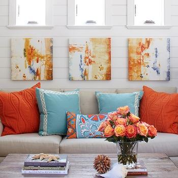 Turquoise Sofa  Design decor photos pictures ideas